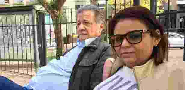 O casal Francisco e Ana Paula, moradores do Bigorrilho, em Curitiba - Janaina Garcia/UOL - Janaina Garcia/UOL