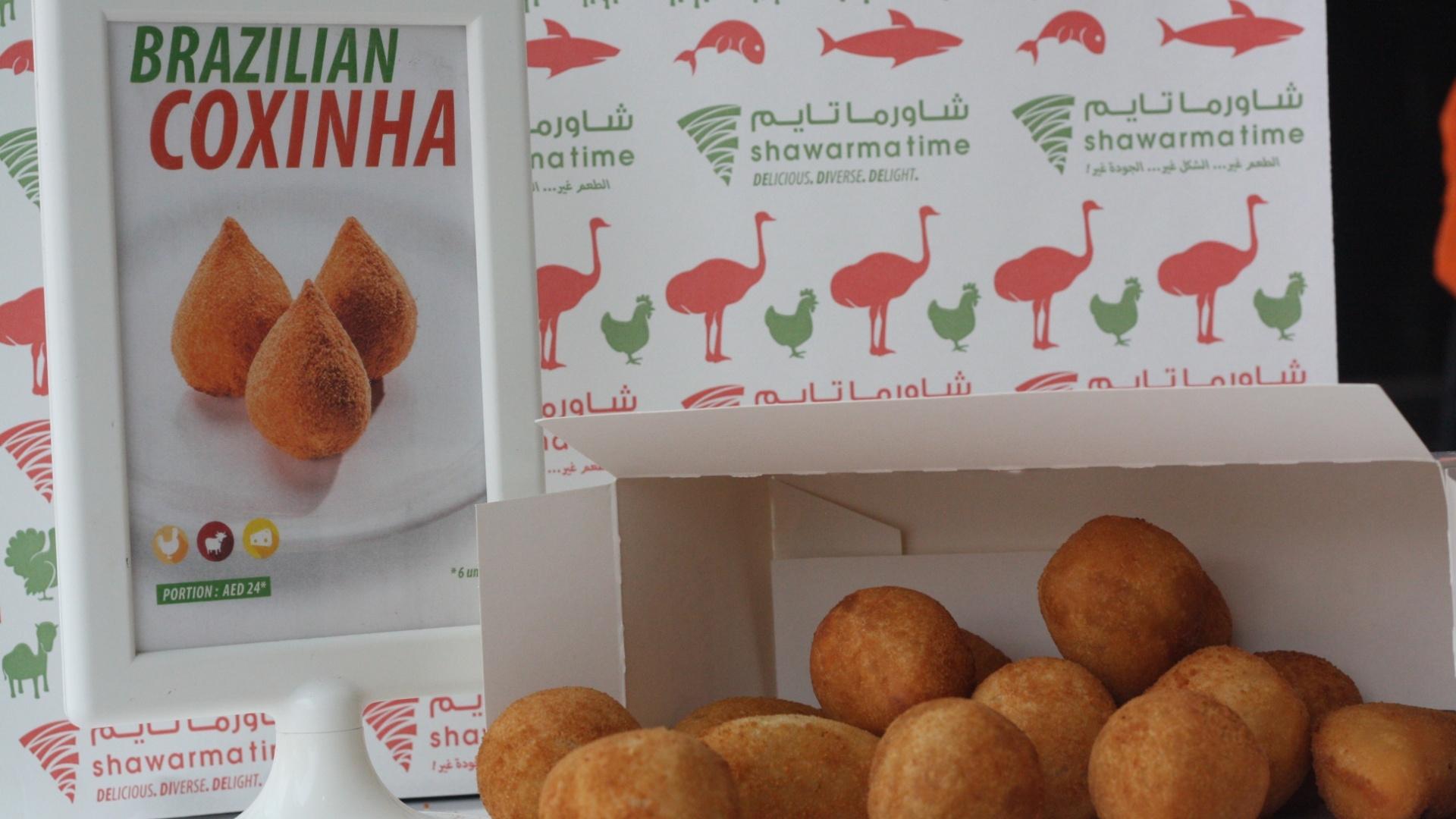 Gula Dubai coxinhas