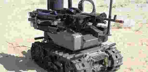"""Robô Maars, da QinetiQ, uma das armas letais autônomas, conhecida como """"robôs assassinos"""" - Divulgação/QinetiQ"""