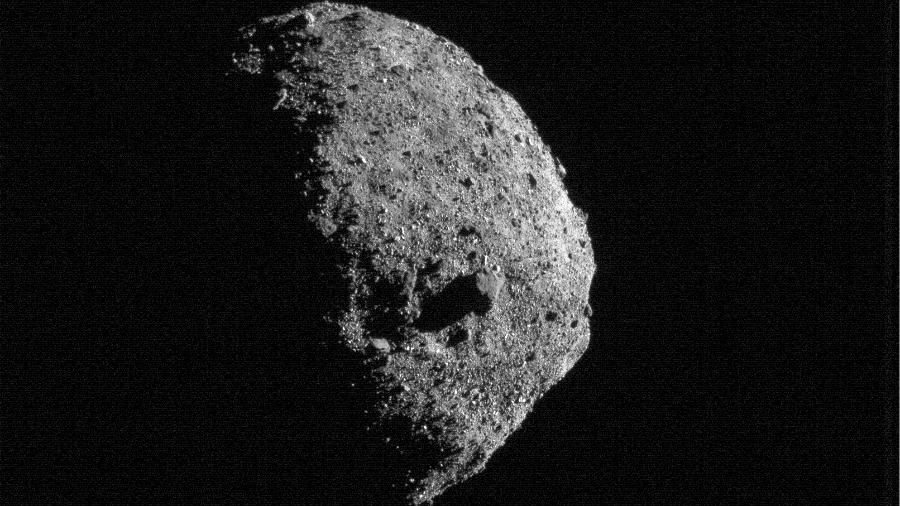 O asteroide Bennu - NASA/Goddard/University of Arizona/Lockheed Martin