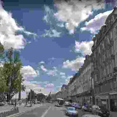 Quai Voltaire, em Paris, onde aconteceu o acidente. - Reprodução/Google Maps