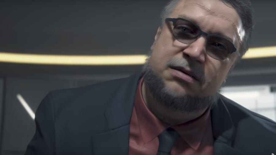 Guillermo del Toro em Death Stranding - Reprodução