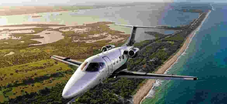 A empresa informou que entregou 89 aeronaves comerciais e 109 executivas no ano passado, dentro do estimado - Divulgação