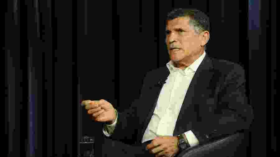 O ex-ministro da Secretaria de Governo Carlos Alberto Santos Cruz - Pedro Ladeira/Folhapress