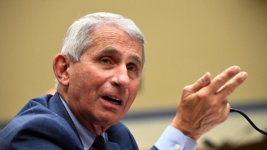 Anthony Fauci em Washington - Reuters