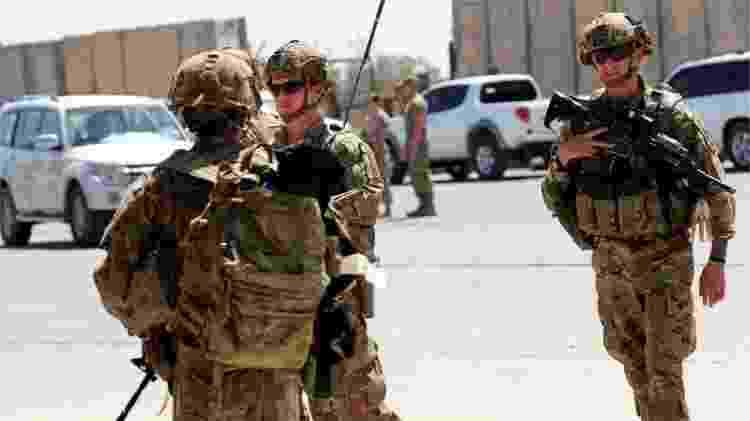 O Pentágono anunciou uma redução de suas forças no Iraque - Reuters - Reuters