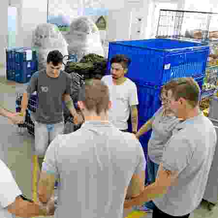Roda de funcionários da Zatom - Divulgação/Zatom  - Divulgação/Zatom