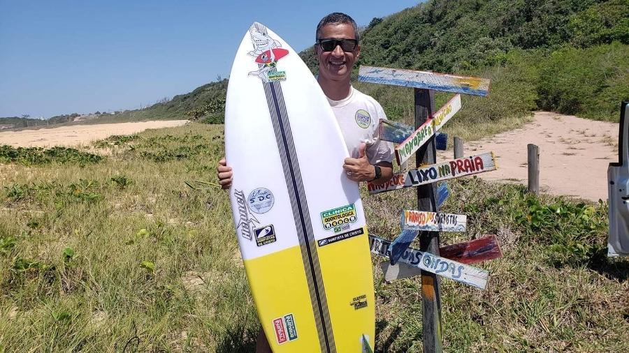 Robson Baião era pastor, empresário e fundador do Seminário Surfistas de Cristo, no ES - Reprodução/ Facebook