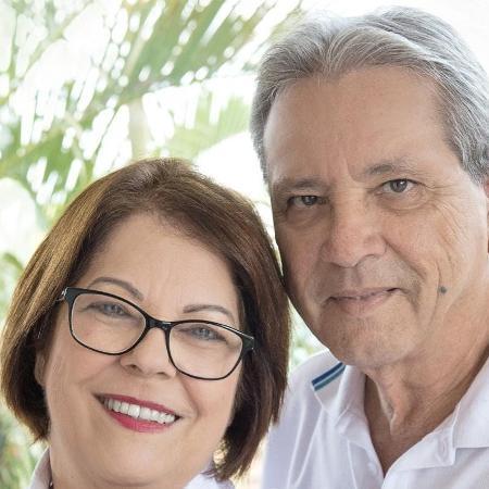 Neuza e João Caneppa, pais de Carmela, também morreram com covid-19 - Arquivo Pessoal - Arquivo Pessoal