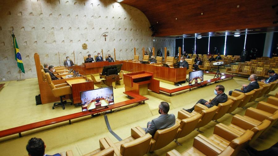 Plenário do STF - Felipe Sampaio/STF