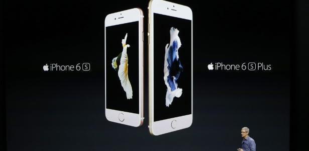 Apple lança iPhones 6S e 6S Plus