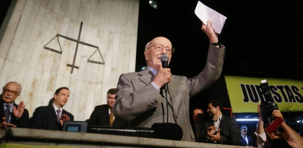 Fundador do PT, Bicudo é um dos signatários do pedido de afastamento de Dilma