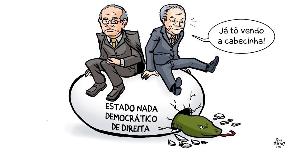 10.ago.2016 - STF espera sentado pelo nascimento de planos nada democráticos