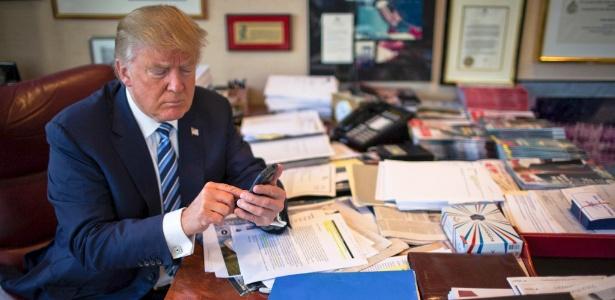Uso do Twitter por Donald Trump afeta o negócio de ações nos EUA