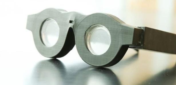Os óculos inteligentes desenvolvidos por Carlos Mastrangelo