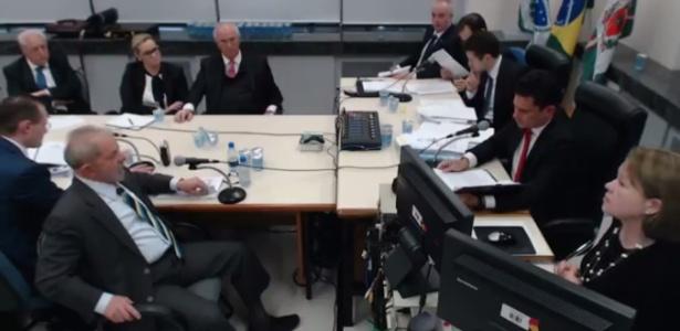 O ex-presidente Lula foi interrogado pela primeira vez por Moro em 10 de maio