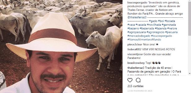 Thales Ferraz - Reprodução/Instagram - Reprodução/Instagram