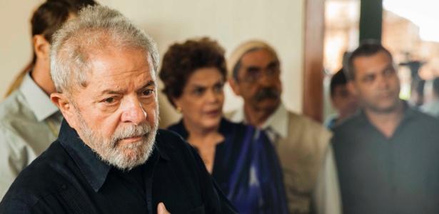 O ex-presidente Lula em foto de março deste ano