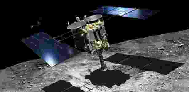 A sonda Hayabusa 2 - Jaxa Akihiro Ikeshita