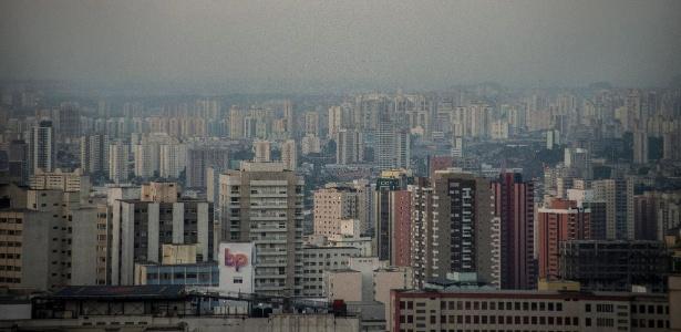 20.jul.2018 - Vista da cidade de São Paulo na região da Avenida Paulista - CRIS FAGA/ESTADÃO CONTEÚDO
