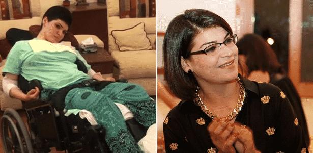 Mehreen Ahmad sofreu danos cerebrais e precisa de ajuda para comer e fazer as necessidades básicas - Arte/UOL
