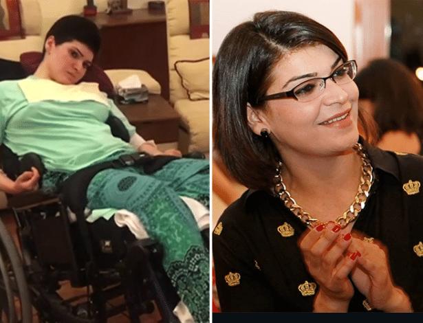 Mehreen Ahmad sofreu danos cerebrais e precisa de ajuda para comer e fazer as necessidades básicas