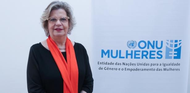A representante da ONU Mulheres no Brasil, Nadine Gasman