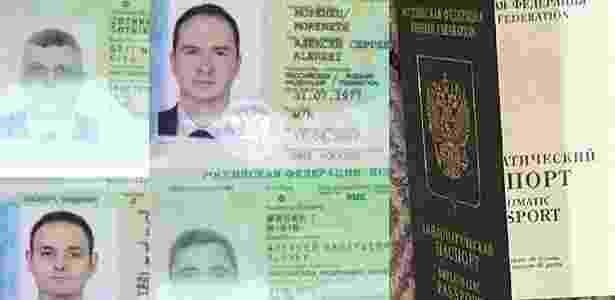 4.out.2018 - Ministério da Defesa holandês diz que agentes russos usaram passaportes diplomáticos para entrar no país - HO/Dutch Defense Moinistry/AFP - HO/Dutch Defense Moinistry/AFP