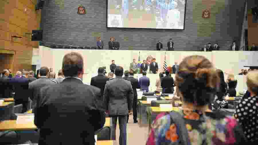 15.mar.2019 - Deputados eleitos para a 19ª Legislatura tomam posse na Alesp  - Alesp