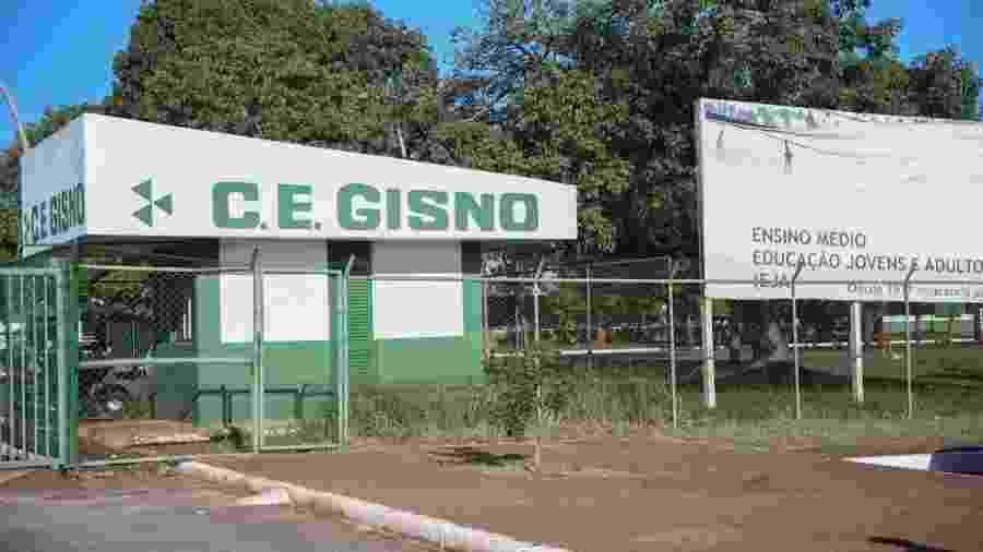 Colégio da rede pública do DF Gisno - José Cruz/Agência Brasil Brasília-DF