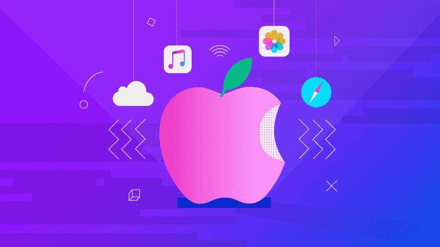 Ideia da patente da Apple é usar o Bluetooth e frequências de rádios mais curtas - Estúdio Rebimboca/UOL
