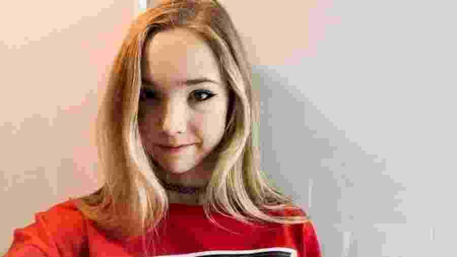 """Apresentada como """"anti-Greta"""", a adolescente alemã de 19 anos se tornou uma voz dos céticos das mudanças climáticas - Naomi Seibt"""