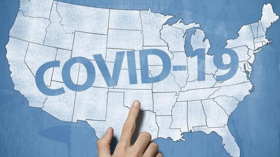 Estados Unidos, atualmente, são o epicentro da pandemia do novo coronavírus - Getty Images