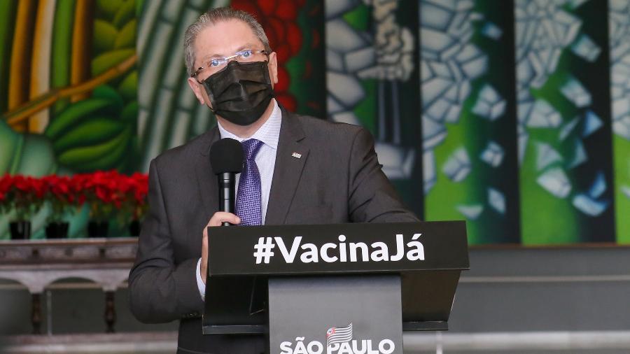 Jean Gorinchteyn diz que necessidade por leitos de UTI em São Paulo cresceu durante as duas últimas semanas - Divulgação/Governo do Estado de São Paulo