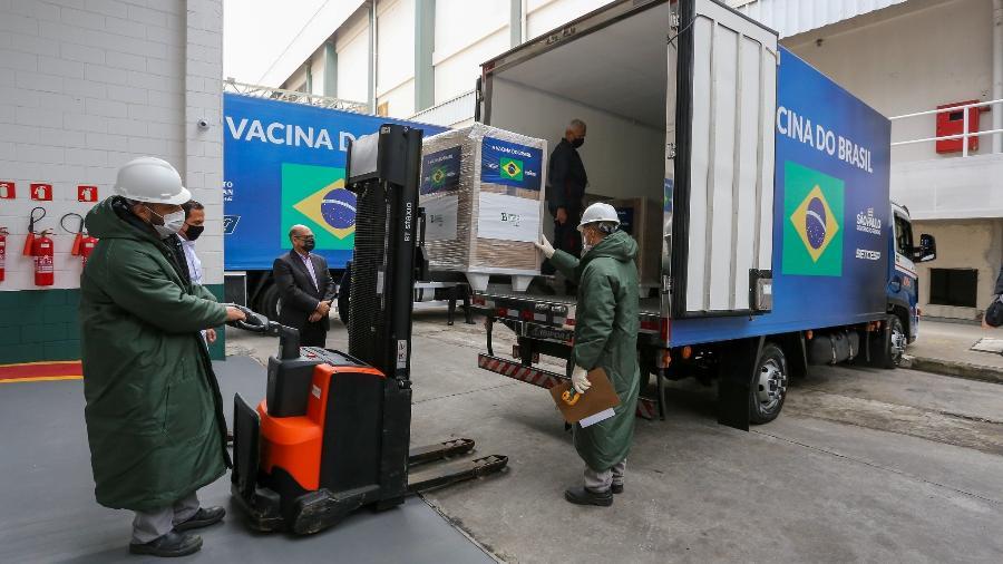 Sem estoques, ao menos cinco cidades do Rio de Janeiro suspendem aplicação da 2ª dose da CoronaVac - Divulgação/Governo de São Paulo