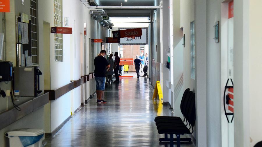Mulher entrou no Hospital do Trabalhador e tentou levar bebê, em Curitiba - Divulgação/Governo do Paraná