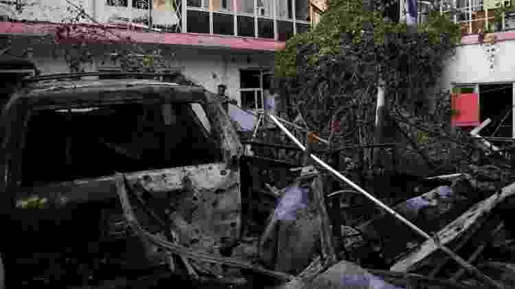 Ataque Cabul - Reuters - Reuters