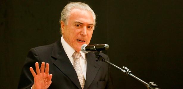 Temer defende união entre os três Poderes para dar fim à crise - Pedro Ladeira/Folhapress