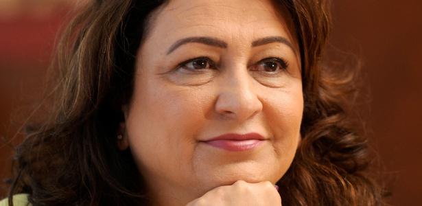 A ministra Kátia Abreu