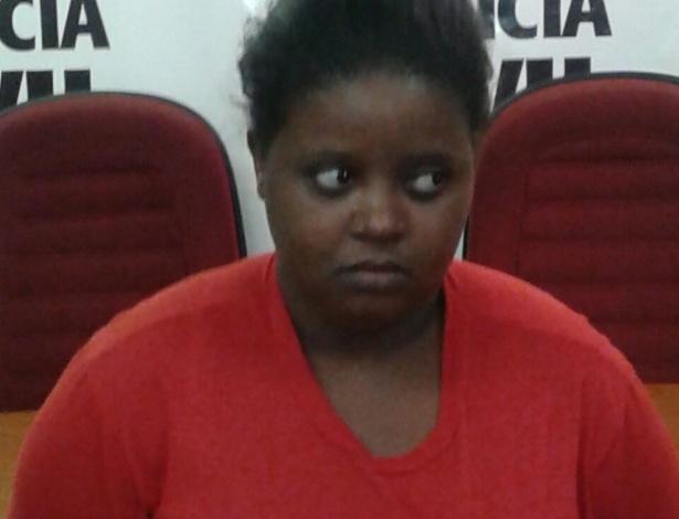 Jéssica Nunes Mateus, 24, alegou que matou sua filha por ter se irritado com o choro - Polícia Civil de Minas Gerais/Divulgação