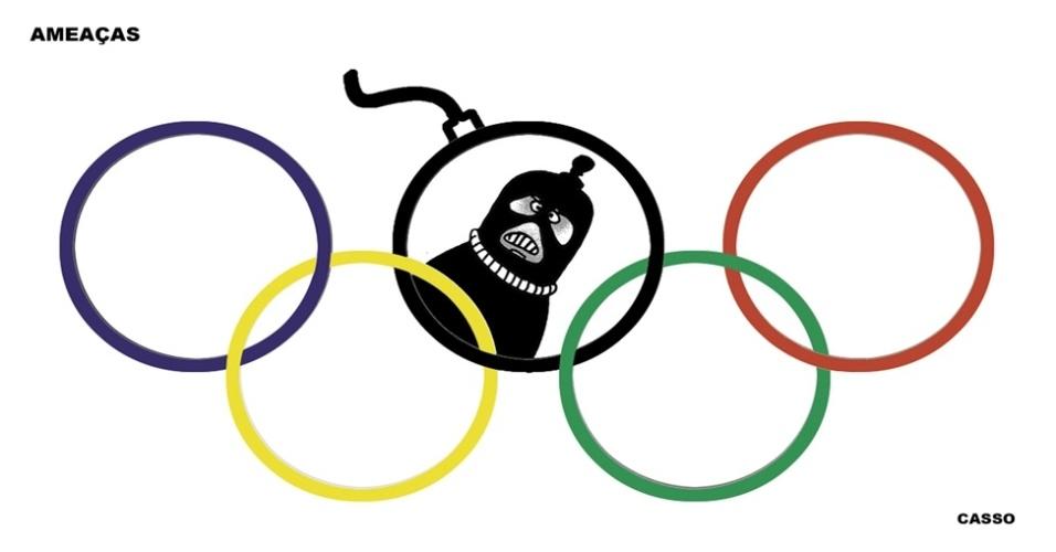 19.jul.2016 - Durante as Olimpíadas, a ameaça pode estar escondida em qualquer lugar