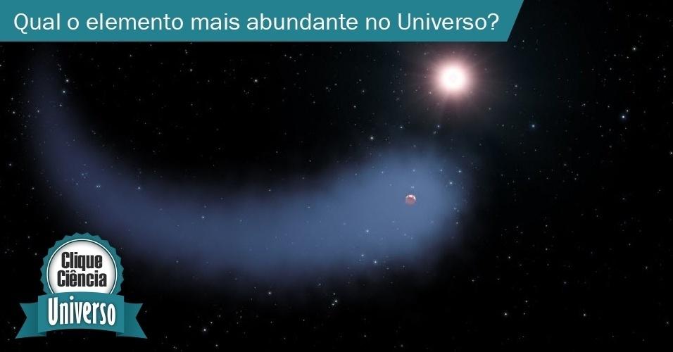 Qual é o elemento químico mais abundante no Universo?