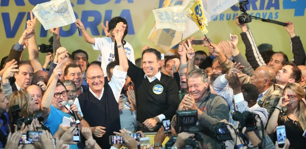Doria comemora eleição com Alckmin: relação é contestada na Justiça
