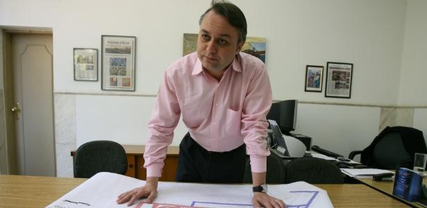 Eduardo Odloak em 2007, quando foi subprefeito da Mooca na gestão de José Serra