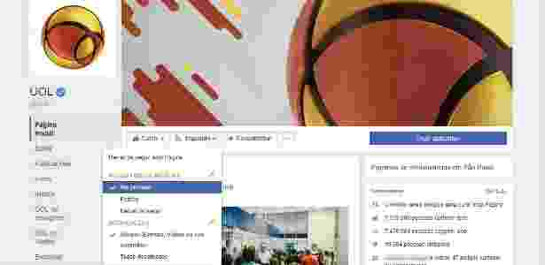 Priorizar posts FB  4 - Reprodução - Reprodução