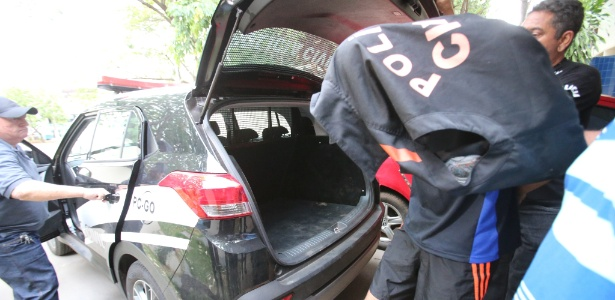 Na última segunda (23), o atirador da escola de Goiânia foi transferido de uma delegacia a um centro de recuperação de adolescentes infratores - Zuhair Mohamad/O Popular/Estadão Conteúdo