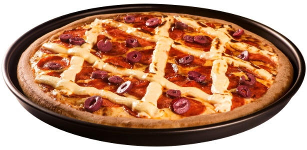 Super Pizza Pan pepperoni com cream cheese