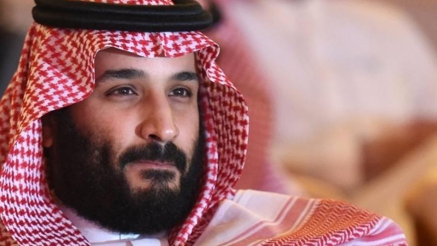 O príncipe herdeiro saudita, Mohammed bin Salman - AFP