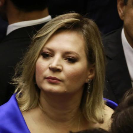 A deputada Joice Hasselmann na Câmara dos Deputados em Brasília (DF) para a sessão solene de posse dos Deputados Federais - FÁTIMA MEIRA/FUTURA PRESS/FUTURA PRESS/ESTADÃO CONTEÚDO