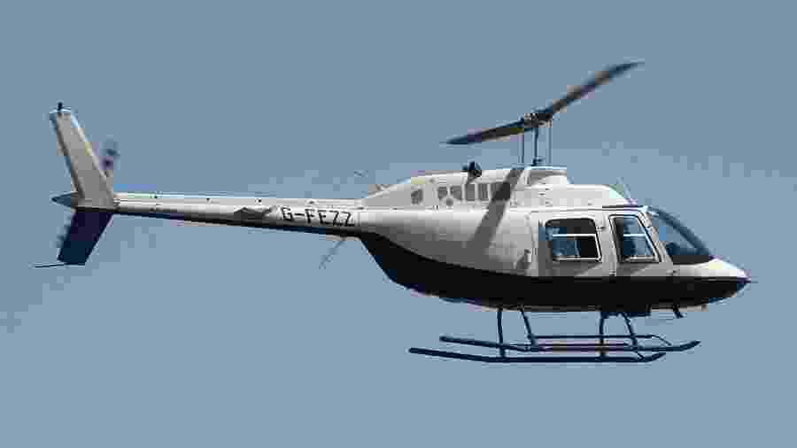 Modelo de helicóptero B06, como o da foto, teve 21 acidentes nos últimos dez anos - Flickr/Mike Burdett